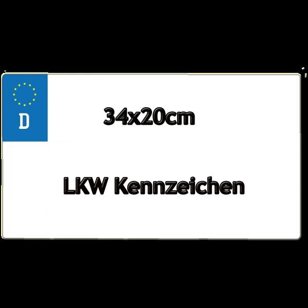 LKW Kennzeichen