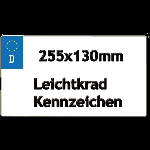 Leichtkrad Kennzeichen 255x130mm