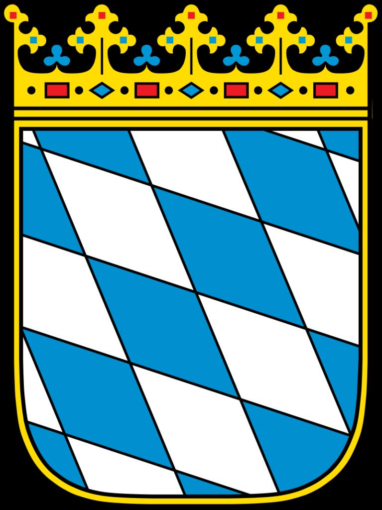 Das Wappen von Bayern